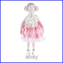 1/3 Princess Jointed Doll in Pink Clothes Kids Girls Toys Birthday Gifts