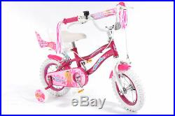 12 Pink Princess KIDS BIKE Childrens SILVERFOX (Girls Bicycle) Ages 3 5