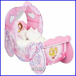 452DNY Princess Carriage Kids Toddler Bed by HelloHome