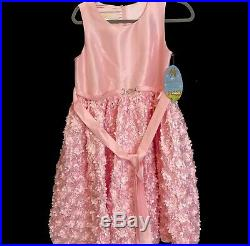 American Princess NYC Pink Tulle Dresses Skater Dress Size 16 Plus Girl Youth 4