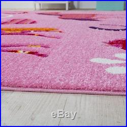 Baby Girl Pink Rug Horse for Bedroom Kids Play Room Carpet Princess Small Large