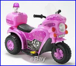 Children Kids Pink Princess Battery Operated Ride On Motorbike Electric Bike Toy