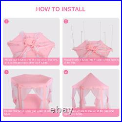 Children Play Tent Princess Castle Play Tent Easy To Assemble Practical Kids