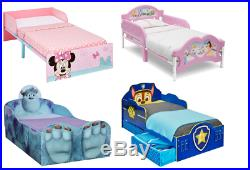 Choose from Childrens Character Toddler Beds Paw Patrol, Minnie, Peppa, Thomas