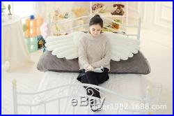 Cute Angel Princess Big Backrest Bed Cushion Soft Pillows Plush Toys Kids Gift