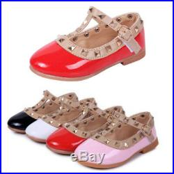 Cute Baby Kids Toddler Infant Girls Flats Wedding Party Princess Shoes Gift New