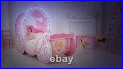 Disney 452DNY Princess Carriage Kids Toddler Bed by HelloHome