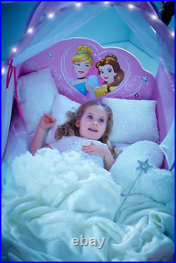 Disney 452DNY Princess Carriage Kids Toddler Bed by HelloHome, Pink, cm