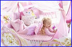 Disney Princess Carriage Kids Toddler Bed by HelloHome, Pink, Toddler 70 x 140