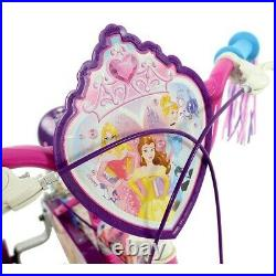 Disney Princess Kids Girls My First 12 Bike Pedal Bicycle Ride On Outdoor Toy