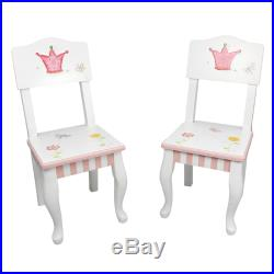 Fantasy Fields Childrens Princess & Frog Kids Wooden Table and Chair Set W-7395A