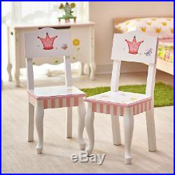 Fantasy Fields Princess & Frog Kids Wooden 2 Chairs Set (no table) W7395A/2