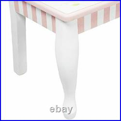 Fantasy Fields Princess & Frog Thematic Kids Sturdy Wooden Set of 2 Chairs