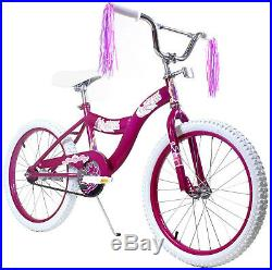 Innovative Sports 20 Kids Bicycle Bike For Girls with Princess Pink Stickers