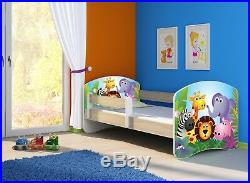 Kid's Bed Fantasia Teen Bed with Mattress Slatted Frame Bed Box 180 x 80