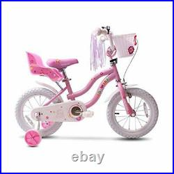 Kid's Bike Steel Frame Children Bicycle Little Princess Style 12-14-16-18-20 In