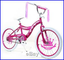 Kids 16 Bicycle Bike with Training Wheel Girls Includes Princess Pink Stickers