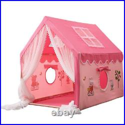 Kids Castle Play House Tents Pink Princess Large Indoor/Outdoor For Baby Girls