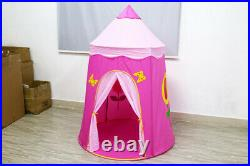 Kids Floral Play Tents Girls Princess Castle Girls Foldable Pop Up Toy Xmas Gift