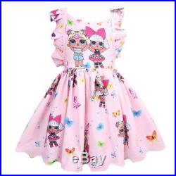 LOL Surprise Cute Girls Doll Princess DressParty Birthday Holiday Dress Gift UK