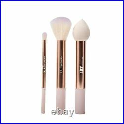 Lilt Professional Makeup Brush Set With Pouch. Set of 3 brushes. 24 pieces