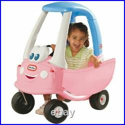 Little Tikes Cozy Coupe Princess Pink Ride On Kids Car Push Along Toy Cosy
