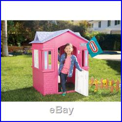 Little Tikes Princess Cottage Playhouse Pink Girl Kid Toy Play House FunGift NEW