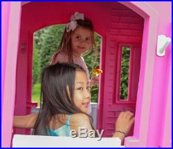 NEW Little Tikes Princess Cottage Pink Playhouse Kids Child Play Indoor Outdoor