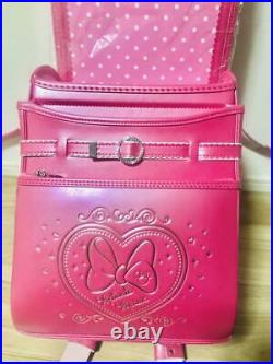 New Disney Disney bag Minnie Mouse Princess made in Japan backpack for school