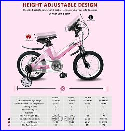 Nice C BMX Kids Bike with Dual Disc Brake for Boy and Girl 12-14-16-18 inch 12