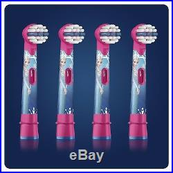 Oral-B Power Kids Stages Princess Frozen Replacement Toothbrush Heads Pack 4