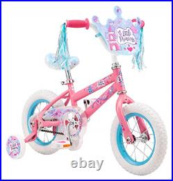 Pacific Princess Character Kids Bike, 12-Inch Wheels, Ages 3-5 Years, Coaster