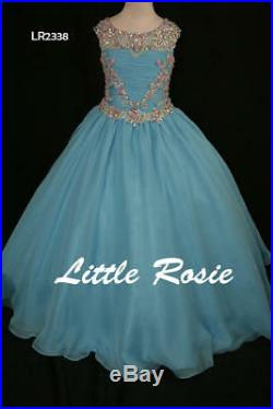 Pageant/formal gown for your princess/ little rosie