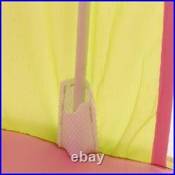 Pink Kids Castle Play Tent Princess Fairy Playhouse Children Tepee Indoor Toy