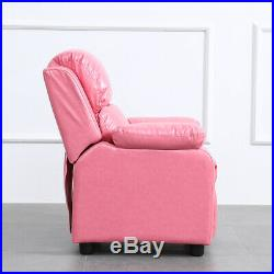 Pink Single Seater Kids Sofa Children Couch Seating Armchair Girl Princess Gift