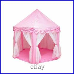 Portable Kids Toy Tent Ball Pool Princess Girl Castle Play House Children