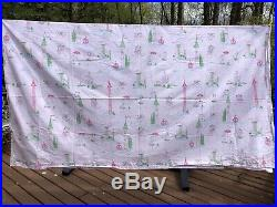 Pottery Barn Kids Grace Fairy Princess 2 Full Flat Sheets 2 Fitted Sheets 3 Case