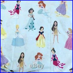Pottery barn Kids Disney Enchanted Princess Twin Duvet Cover only