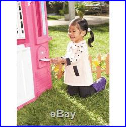 Pretty Pink Little Tikes Princess Cottage Playhouse, Kids Life Size Doll House