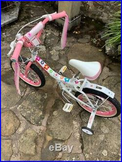 ROYAL BABY, STYLE JENNY PRINCESS, PINK KIDS BIKE GIRLS, SIZE 16 Excellent cond