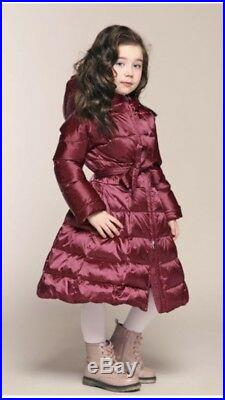 Real Duck Down Toddler Coat For 4-5Y Brand-, Naumi Princess Winter Puffer