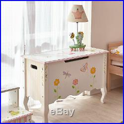 SOLD OUT Fantasy Fields Childrens Princess & Frog Kids Wooden Toy Box Storage W7