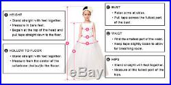 Short Sleeves Flower Girls Dresses Children Sheer Neck Tiered Long Party Gowns