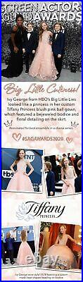 Tiffany Princess 13578 Pink Stunning Girls Pageant Gown Dress sz 10 NWT AUTHENTC