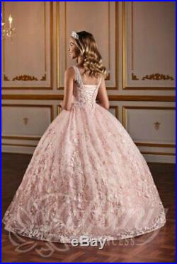 Tiffany Princess 13578 Pink Stunning Girls Pageant Gown Dress sz 2 NWT AUTHENTIC