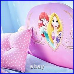 UK Disney Princess Kids Toddler Bed With Underbed Storage By HelloHome Style Uk