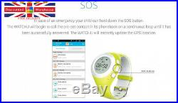 WATCHU for Kids Phone Watch with GPS Tracker Check Your Princess Pink
