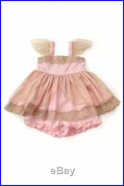Well Dressed Wolf Wildlings pink Princess tunic set Size 8 years NWT