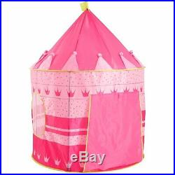 Wholesale 6X Princess Pop-Up Pink Playhouse Castle Tent Girls Kids Toy Play New